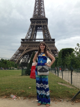 Conquered the Eiffel!