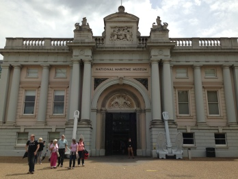 The National Maritime Museum in Greenwich.