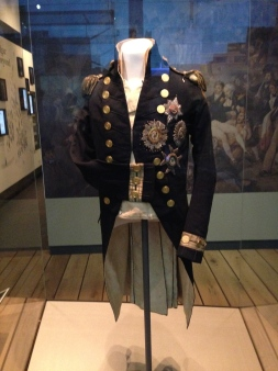 Vice-Admiral Nelson's naval uniform.