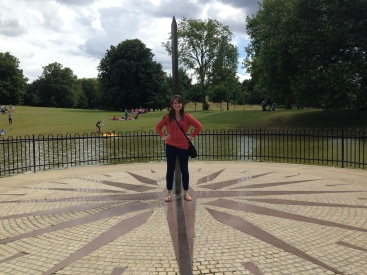 Practically the Prime Meridian...